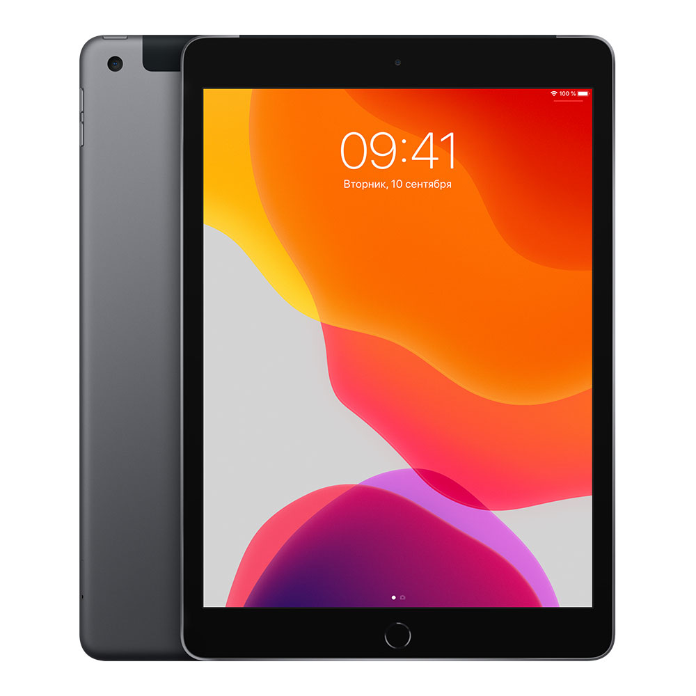Apple iPad (2019) Wi-Fi + Cellular 128 Gb Space Gray